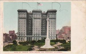 California San Francisco Hotel Saint Francis Union Square