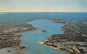 Town Cove looking toward Orleans North Eastham, Massachusetts Postcard