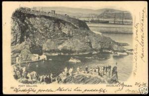 isle of man, DOUGLAS, Port Skillion (1904)