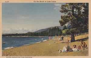 Lake Tahoe , Nevada , 1957