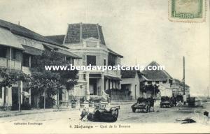 madagascar, MAHAJANGA MAJUNGA, Quai de la Douane (1912) Stamp