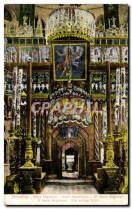 Postcard Old Jerusalem Holy Sepulcher