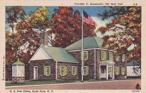 New York Hyde Park Franklin D Roosevelts Old Mail Post U S Post Office 1951