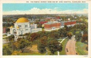 LP09   Cleveland Ohio   Mt. Sinai Hospital Nurses Home  Postcard
