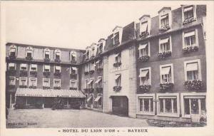 France Bayeaux Hotel Du Lion D'Or