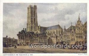 Malines, Belgium, België, la Belgique, Belgien Cathedrale  Cathedrale