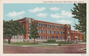 Junior College and Senior High School Pratt Kansas Curteich