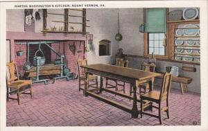 Virginia Mount Vernon Martha Washington's Kitchen