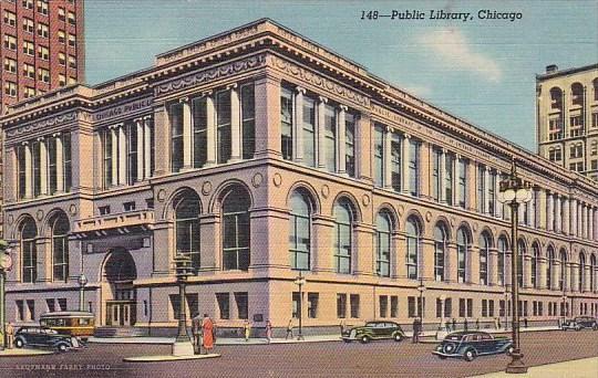 Pulic Libray Chicago Illinois