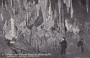 LURAY, Virginia, 1900-1910's; Organ And Chimes, Caverns Of Luray
