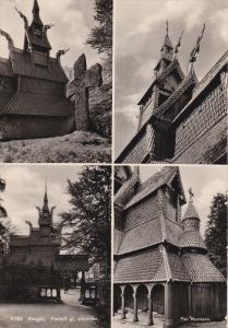 RP: Bergan , Norway , PU-1952 : Fanloft gl. stavkirke
