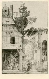 The Nativity - Engraving by Albrecht Durer