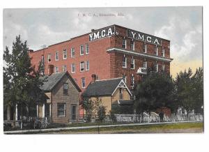 YMCA and Old Houses Enmonton Alberta Canada