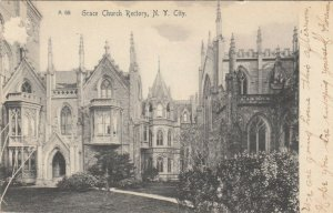 NEW YORK CITY, New York, 1905; Grace Church Rectory