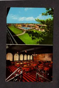 KY Holiday Inn Hotel Motel East Lexington Kentucky Postcard PC Interior