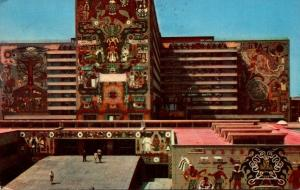 Mexico City Communications Buildings Murals 1956