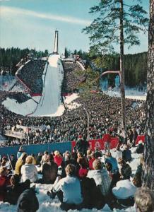 Norway Oslo The Holmenkollen Ski Jump