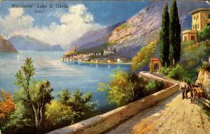 Italy - Malcesine. Lago di Garda