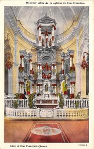 Habana Cuba, Republica de Cuba Altar at San Francisco Church Habana Altar at ...