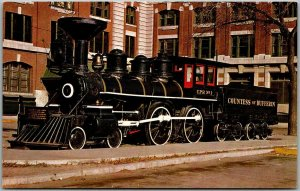 Winnipeg, Manitoba Canada Postcard COUNTESS OF DUFFERIN Steam Locomotive 1960s