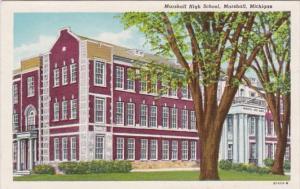 Michigan Marshall High School Curteich