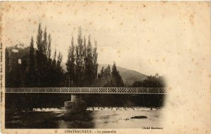 CPA Chateauneuf La Passerelle FRANCE (954945)