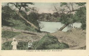 south africa, KLERKSDORP TRANSVAAL, A Glimpse of the Vaal (1899)