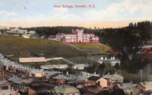 Knox College, Dunedin, New Zealand, Early Postcard, Unused