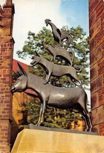 Bremen Die Stadtmusikanten Statue
