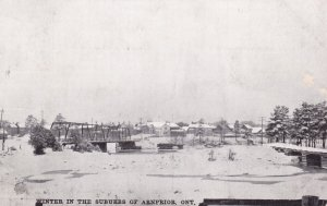 ARNPRIOR , Ontario , Canada , 1907 ; Winter in the suburbs