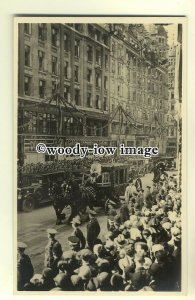 r0376 - King George V Silver Jubilee - The Speakers Coach - postcard