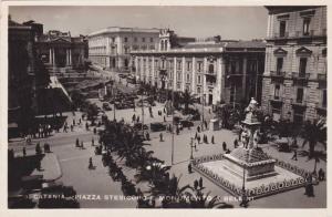 RP, Piazza Stesicoro E Monumento A Bellini, Catania (Sicily), Italy, 1920-1940s