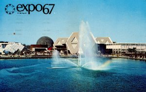 Canada - Quebec, Montreal. Expo 67. General View from Palace of Nations