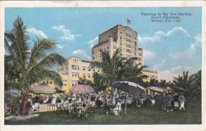 Dancing in the Tea Gardens, Hotel Flamingo, MIAMI, Florida, 10-20s