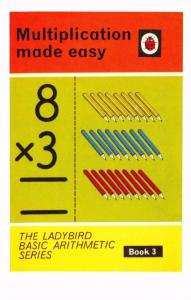 Postcard Multiplication made easy Book 3 (1967) Series 678 Ladybird Book Cover