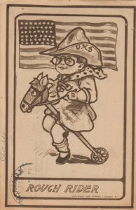 WASHINGTON D.C., 1910 ; Political ; Teddy as Rough Rider