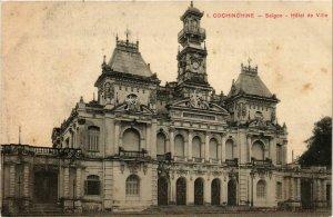 CPA AK INDOCHINA Saigon Hotel de Ville VIETNAM (957171)
