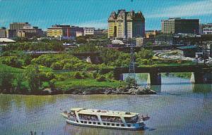 Canada Winnipeg Aerial View