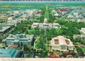 Washington D C Aerial View