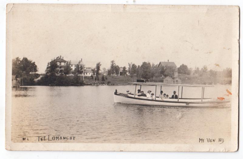 RPPC, The Lomanche, Mountain View NY