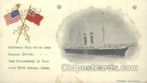 USMS Philadelphia Ship Ocean Liners, Steamers Unused close to perfect corners