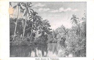 Kali Josso te Tjilatjap Indonesia, Republik Indonesia 1909 Missing Stamp