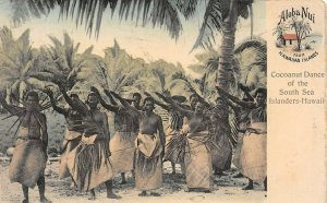 LP14  Hawaii   Dance Postcard South Seas Curio