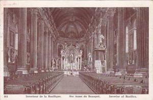 Ste. Anne de Beaupre , Quebec , Canada , 1910s ; Interieur de la basilique