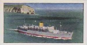 Golden Grain Tea Vintage Trade Card 1970 Passenger Liners No 2 Arcadia