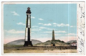 Cape Henry, Va., Old (Built 1789) And New Light House