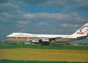 ROYAL AIR MAROC BOEING 747