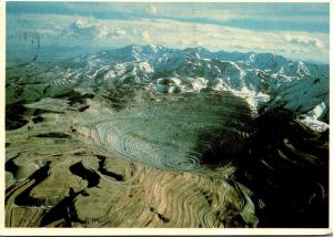 Utah Kenncott's Bingham Copper Mine 1987