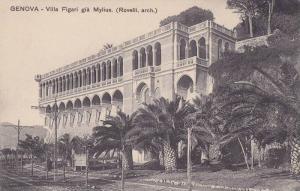 Villa Figari Gia Mylius (Rovelli, Arch), Genova (Liguria), Italy, 1900-1910s