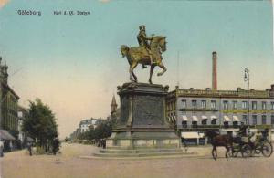 Karl d. IX Statyn, Göteborg, Sweden, 1910-1920s